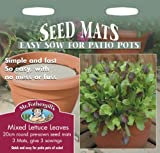 Mr Fothergills - Pictorial Packet - Salad - Lettuce Leaves Mixed - Seed Mat
