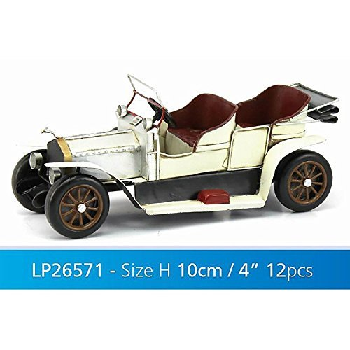 Vintage Metal Car Handmade Handicraft Car Model Collectible Vehicles Model