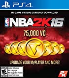 NBA 2K16 – 75,000 VC – PlayStation 4 [Digital Code]