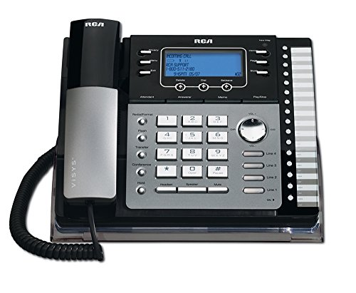 RCA25425RE1 - ViSYS 25425RE1 Four-Line Phone with Digital An