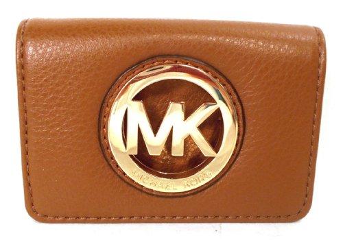MICHAEL Michael KorsMichael Kors Fulton Leather ID Card Case Luggage