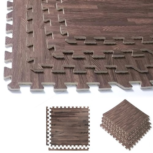 Interlocking Foam Wood Flooring Safety With Style Funk
