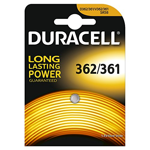 Duracell Specialty Type 362/361 Silver Oxide Camera Battery, Pack Of 1