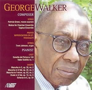 George Walker: Composer Pianist