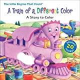 img - for Little Engine That Could: A Train of a Different Color: Coloring Book with Stickers book / textbook / text book