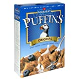 Barbara's Bakery Puffins Cereal, 12-Ounce Boxes (Pack of 4) ~ Barbara's Bakery