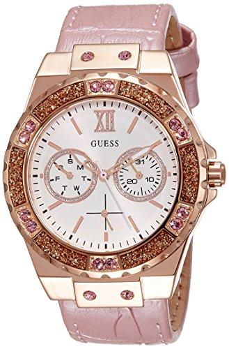 Guess  W0775L3 - Reloj de lujo para mujer, color beige / rosa