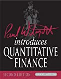 img - for Paul Wilmott Introduces Quantitative Finance (The Wiley Finance Series) book / textbook / text book