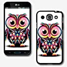 Design Collection Hard Phone Cover Case Protector For LG OPTIMUS G PRO E980 AT&T #2548