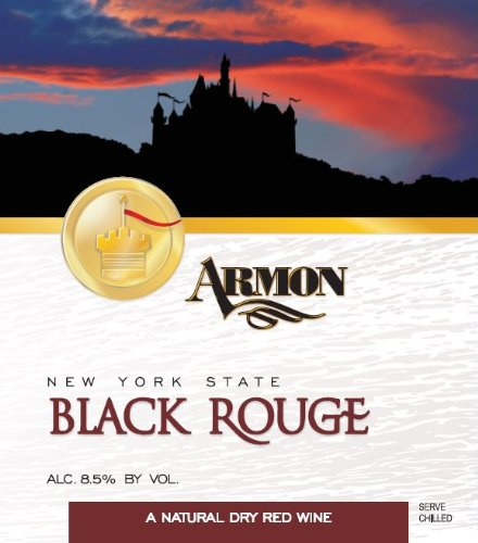 Nv Armon Black Rouge New York Red Wine 1.5 L