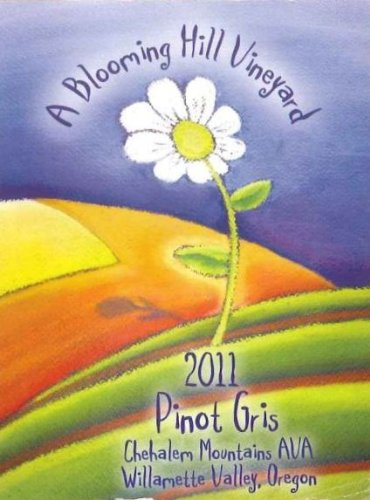 2011 A Blooming Hill Vineyard Pinot Gris 750 Ml