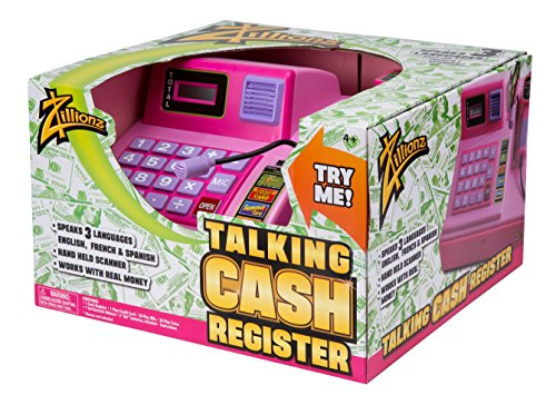 Zillionz Talking Cash Register - Pink (Spanish Cash Register compare prices)