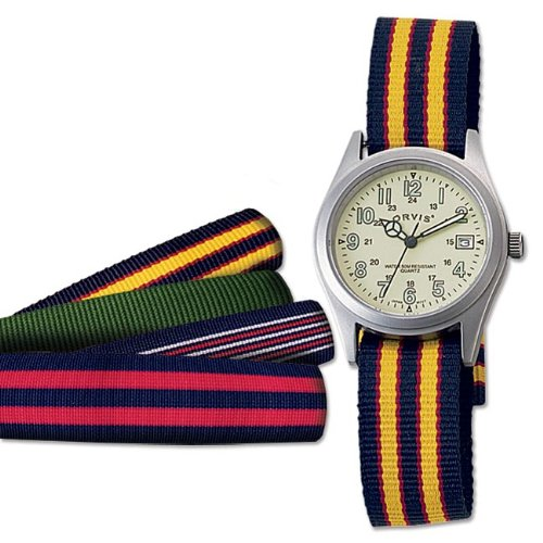 Grosgrain Ribbon Watch
