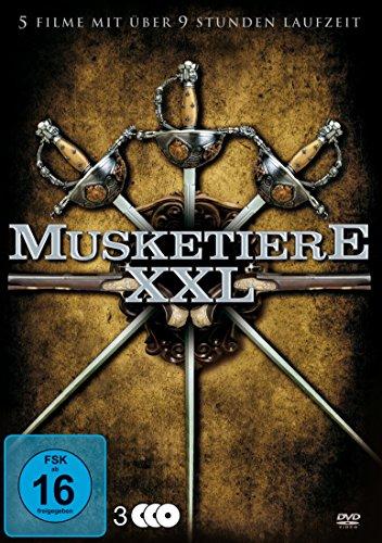 Musketiere XXL Box (5 Filme auf 3 DVDs)
