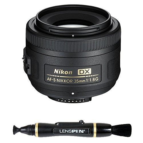 Nikon 35mm f/1.8G Auto Focus-S DX Lens for Nikon Digital SLR Cameras - Fixed