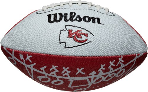 Wilson Kansas City Chiefs Mini Team Logo Football