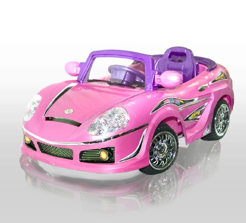 New Pink MP3 Kids Ride on R/C Remote Control Power Wheels Car RC Ride On Car