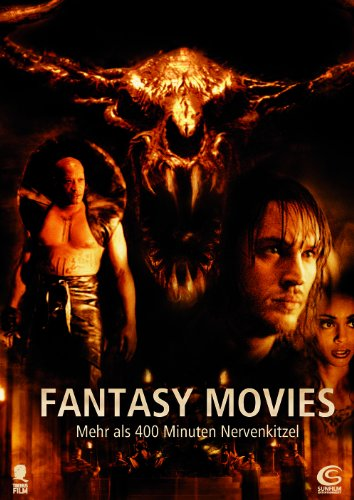 Fantasy Movies (Minotaurus, They Nest, The Collector, Wolfgirl) (2-Disc Set mit 4 Filmen)