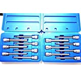 14 Pc Extra Long Hex Bit Sockets Allen Wrench Mm+sae (Color: Multi)