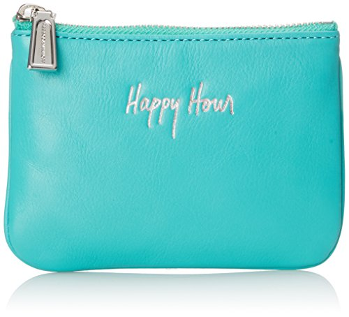 Rebecca Minkoff Cory Pouch-Happy Hour Wallet, Peacock, One Size