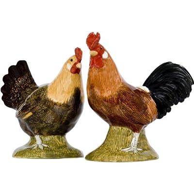 Quail Ceramics - Buttercup Hen And Cockerel Salt And Pepper Pots by Quail Ceramics