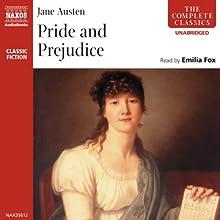 Pride and Prejudice   Livre audio Auteur(s) : Jane Austen Narrateur(s) : Emilia Fox