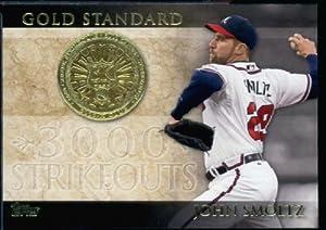 2012 Topps Baseball Gold Standard #GS-16 John Smoltz Atlanta Braves -Encased Trading Card