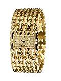 Roberto Cavalli Oryza 7253124017 - Reloj de mujer de cuarzo, correa de acero inoxidable color oro