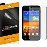 [6-Pack] SUPERSHIELDZ- High Definition Clear Screen Protector For Samsung Galaxy S2 (Sprint, Boost Mobile, Virgin Mobile, US Cellular, BlueGrass Cellular) + Lifetime Replacements Warranty [6-PACK] - Retail Packaging