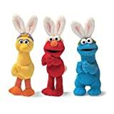 Sesame Street Elmo, Big Bird, & Cookie Monster Easter Basket Clip Ons - Set of all 3 Styles