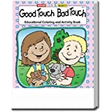 Good Touch Bad Touch Coloring and Activity Book Trade Show Giveaway