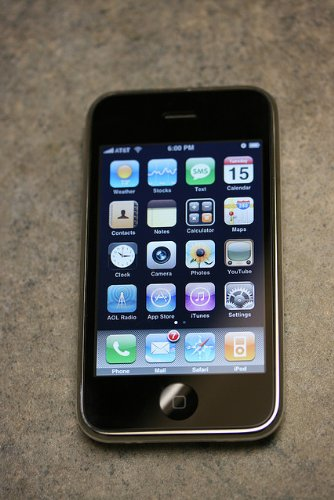 Apple 3G iPhone Cellphone 16GB GSM Unlocked (Black)