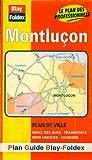 echange, troc Plans Blay Foldex - Plan de ville : Montluçon (avec un index)