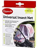 Clippasafe Pram & Pushchair Universal Insect Net (One Size, White)