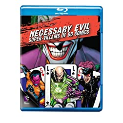 Necessary Evil: Super-Villains of DC Comics [Blu-ray]
