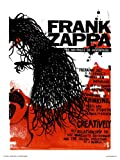 Frank Zappa Poster Art Print by Simon Walker (OTW041)