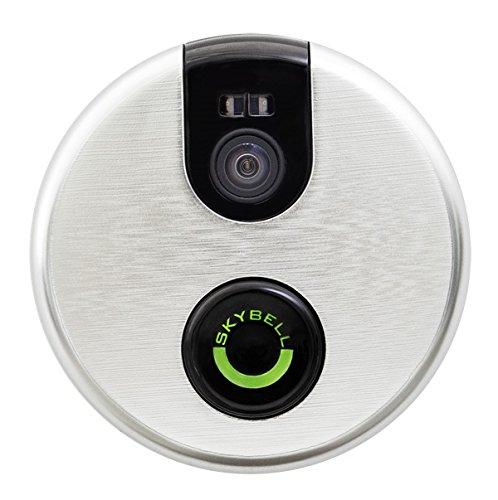 SkyBell Wi-Fi Video Doorbell Version 2.0 (SILVER)