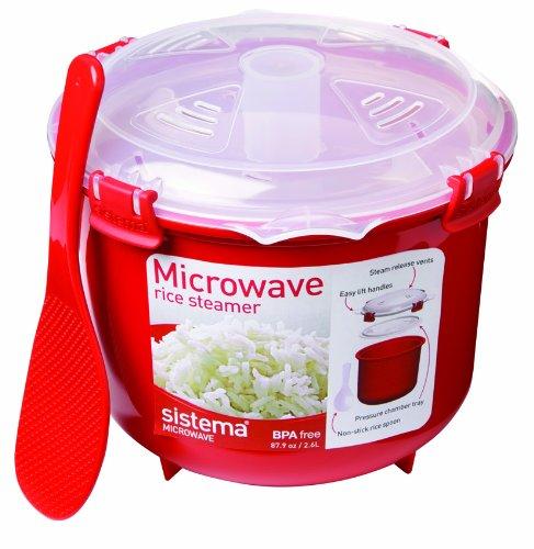 Sistema 1110 Rice Steamer 2.6 litre, 87.9 oz, 11 cups