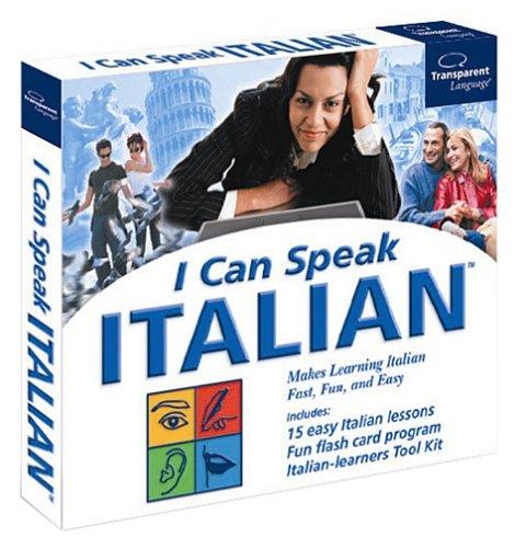 I Can Speak Italian Jewel CaseB00008XET9