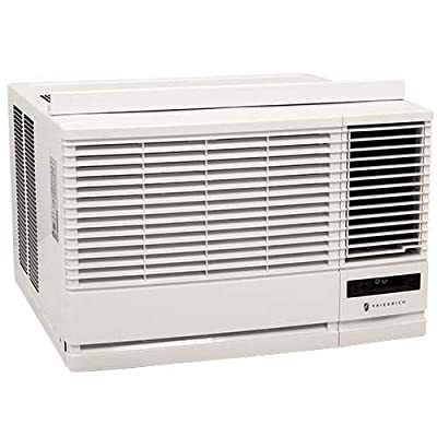 Friedrich EP08G11B 8000 BTU 115V Window Air Conditioner with 3850 BTU Heater and,