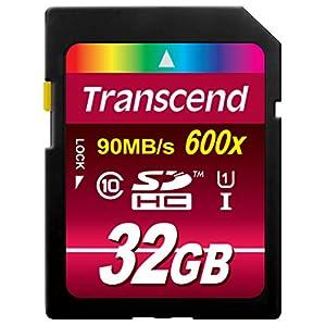 【Amazon.co.jp限定】Transcend SDHCカード 32GB Class10 UHS-I対応 無期限保証 TS32GSDHC10U1E (FFP)