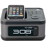Memorex 2169 Mini Alarm Clock Radio for iPod and iPhone (Black) (Discontinued by Manufacturer)
