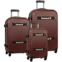 Timberland Shelburne 3-Pieces Hardside Spinner Luggage Set (Multiple Colors)