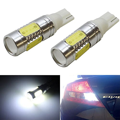 Ijdmtoy (2) Extremely Bright 7.5W High Power 912 921 920 T15 Led Bulbs For Backup Reverse Lights, Xenon White
