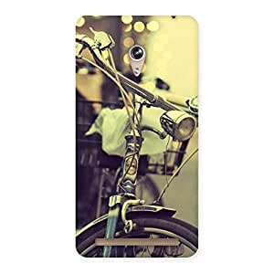 Vintage Bycycle Back Case Cover for Zenfone 6