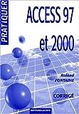 echange, troc Fontaine - Corrige pratiquer access 97 et 2000