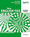 New English File intermediate workbook with answers and multiROM pack