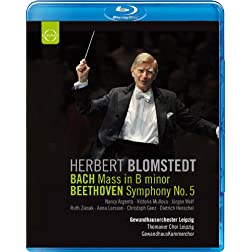 Herbert Blomstedt conducts Bach & Beethoven [Blu-ray]