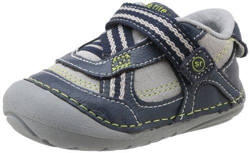 Stride Rite Srt Sm Colin Sneaker (Infant/Toddler),Navy/Grey,3.5 M Us Toddler front-698718