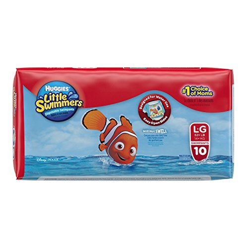 Huggies Little Swimmers Disposable Swimpants Disney L/G 32+ LB - 10 CT - 1
